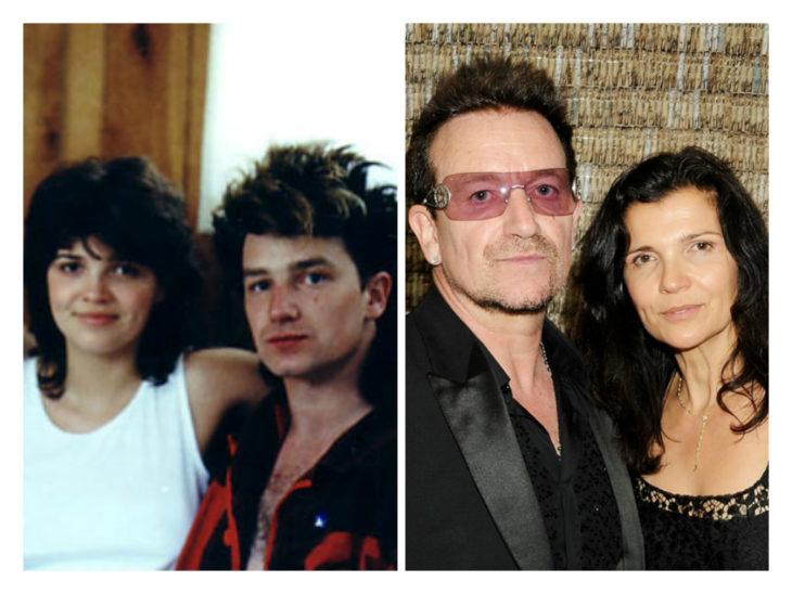 bono y su esposa