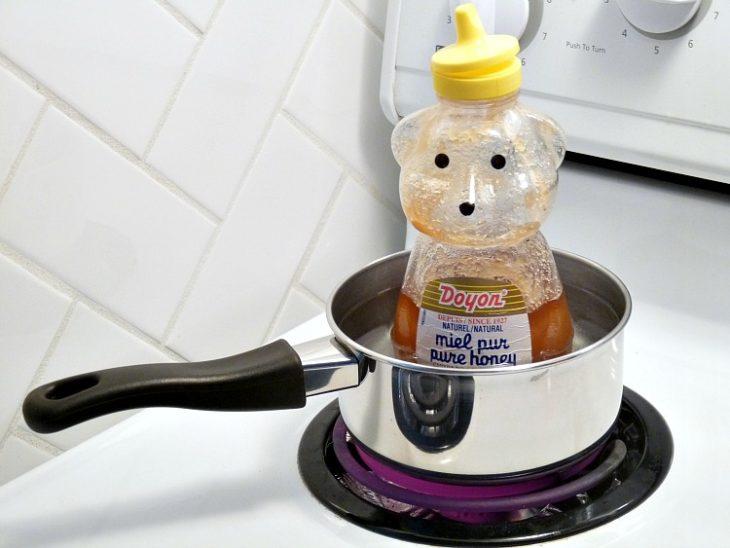 miel baño maria