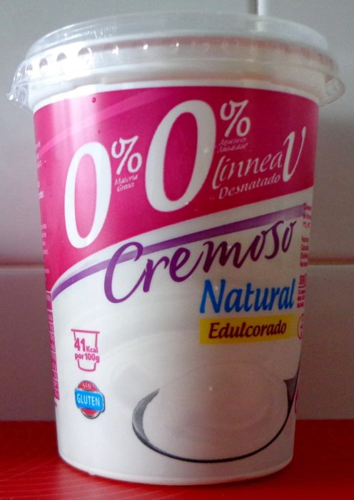 bote de 1 litro de yogurt