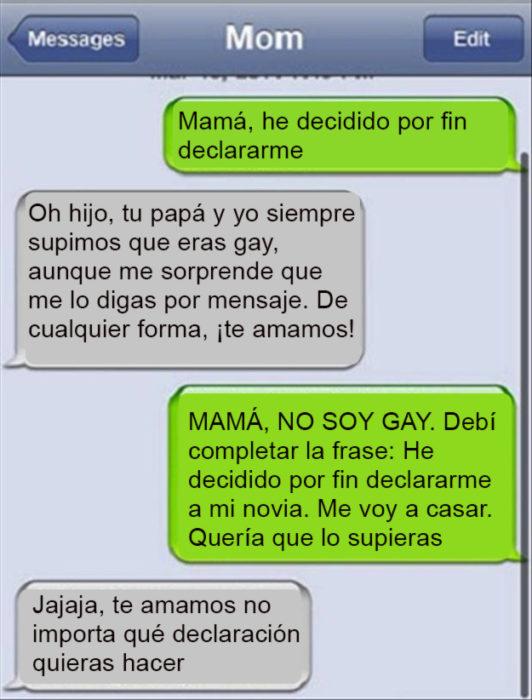 Mensaje mamá que piensa que su hijo es gay
