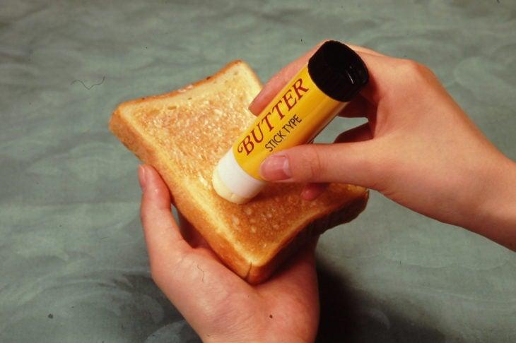 Barra para embarrar mantequilla