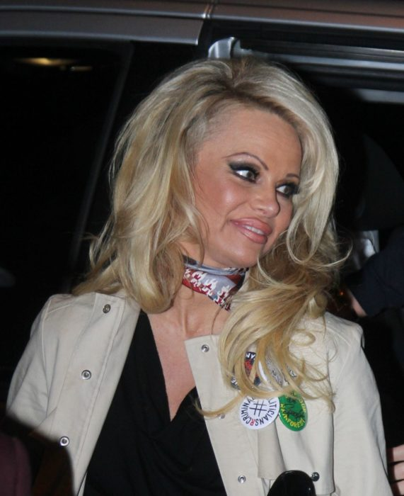 Pamela Anderson en 2016