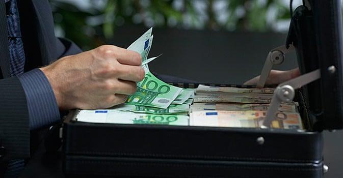 maleta dinero