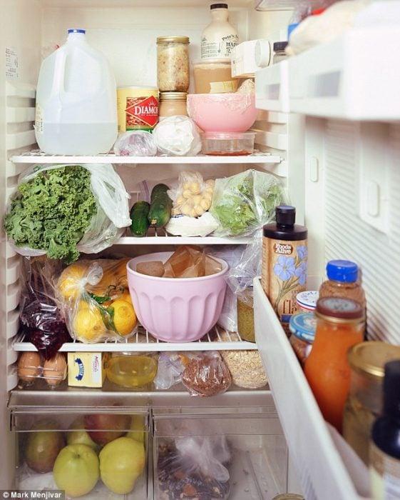 refrigerador después de la boda