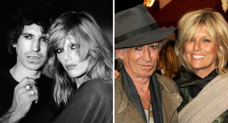 keith richards y su esposa