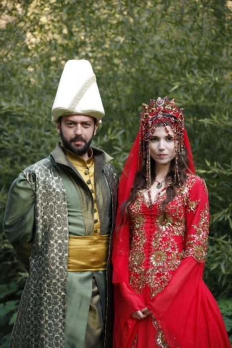 pareja de novios turcos