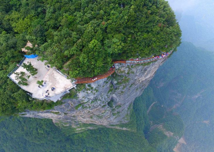 puente china visto desde arriba