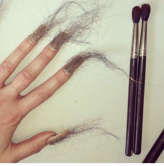 uñas de pelos