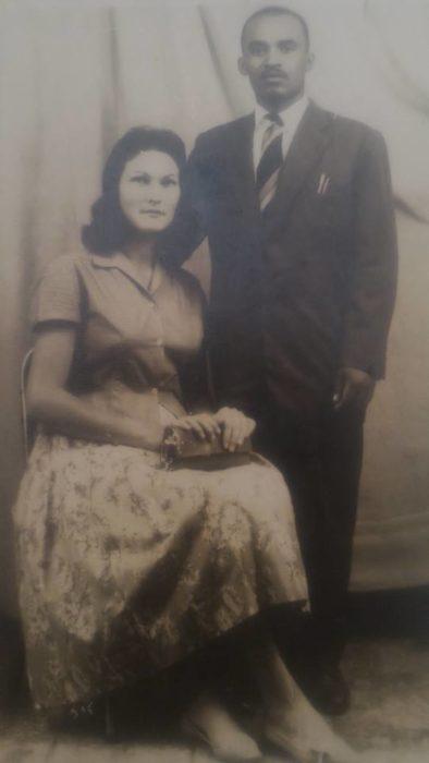 fotografía antigua de pareja