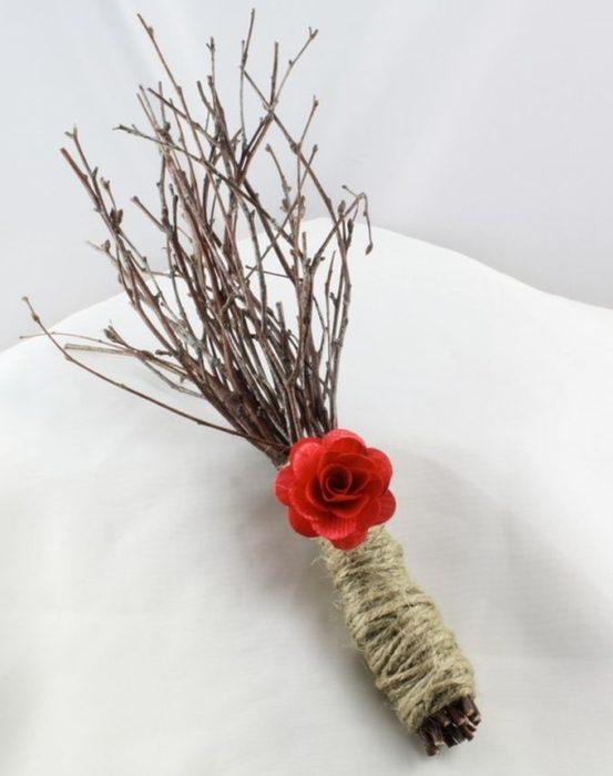 ramo hecho de ramas