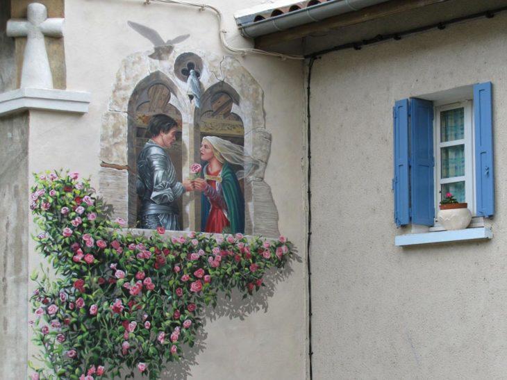 mural porte del amour