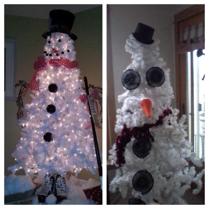 árbol de navidad raro