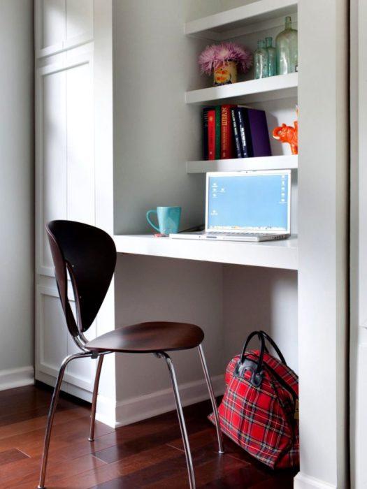 escritorio reducido
