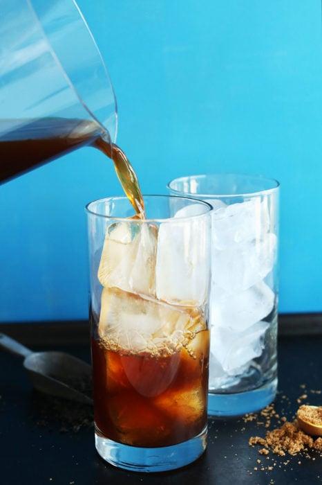 bebidas con hielo