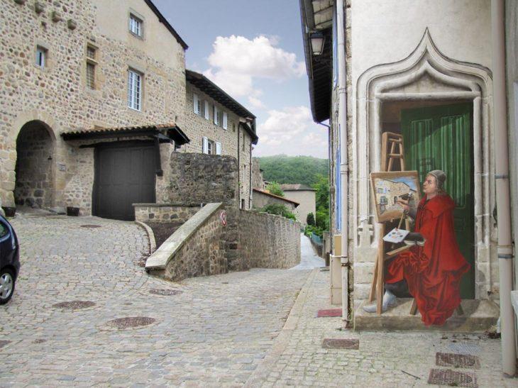 mural porte du peintre