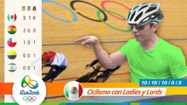 Medalla olímpica por ciclismo de ladies y lords
