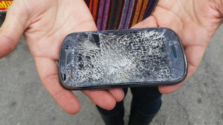 celular roto