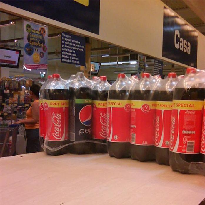 pepsi entre big cola