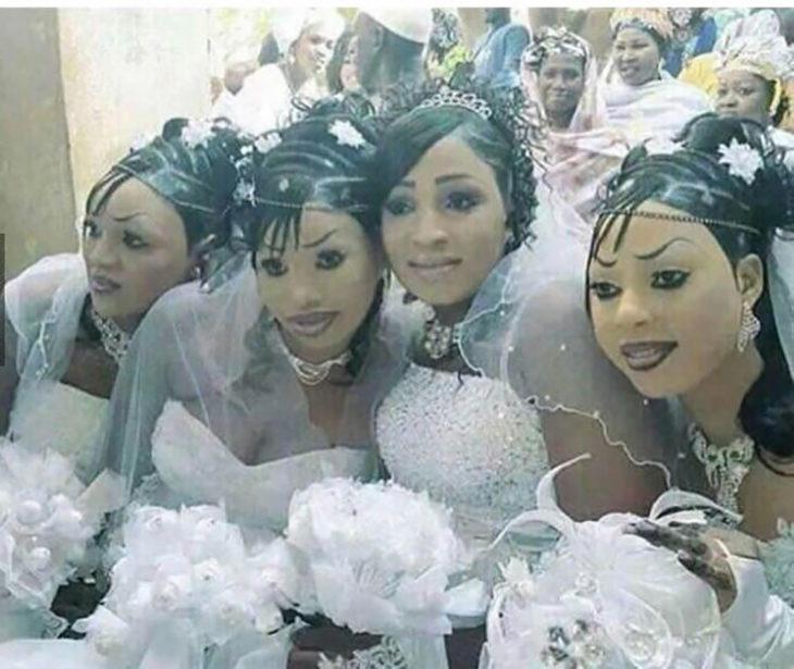mujeres maquilladas feo que dan miedo