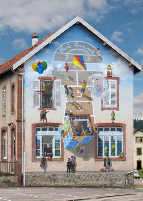 mural c´est la recre