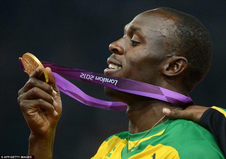bolt medalla de oro
