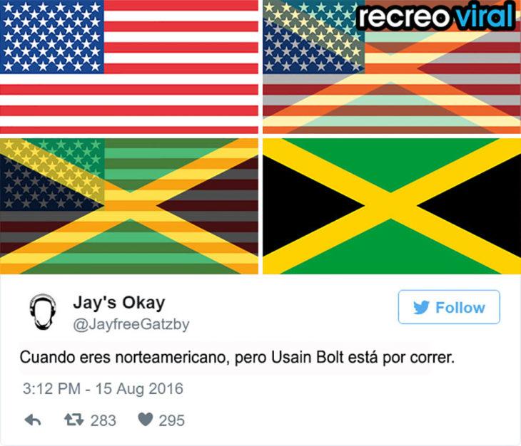 bandera de estados unidos se convierte en la de jamaica