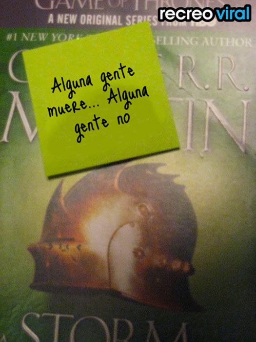 juego de tronos libro