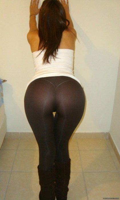 legging transparente