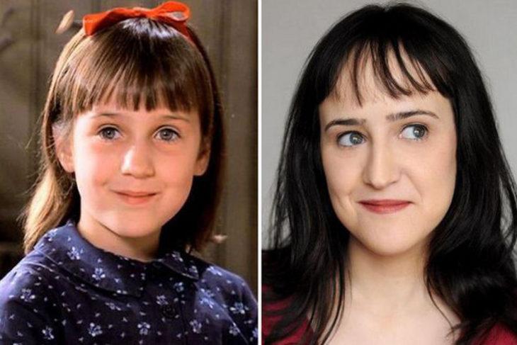 antes y después actriz de matilda