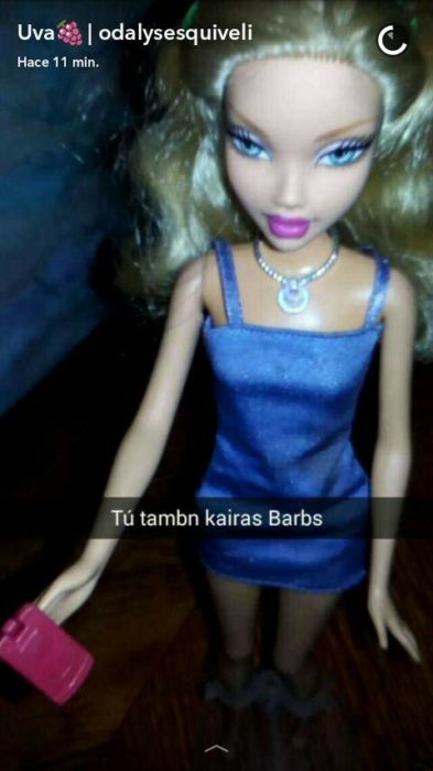 Barbie rubia: tu también caerás Barbs