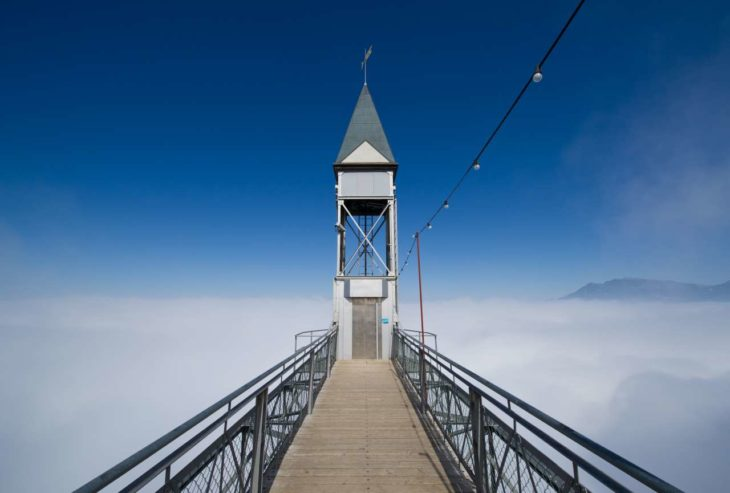 el elevador más alto de europa
