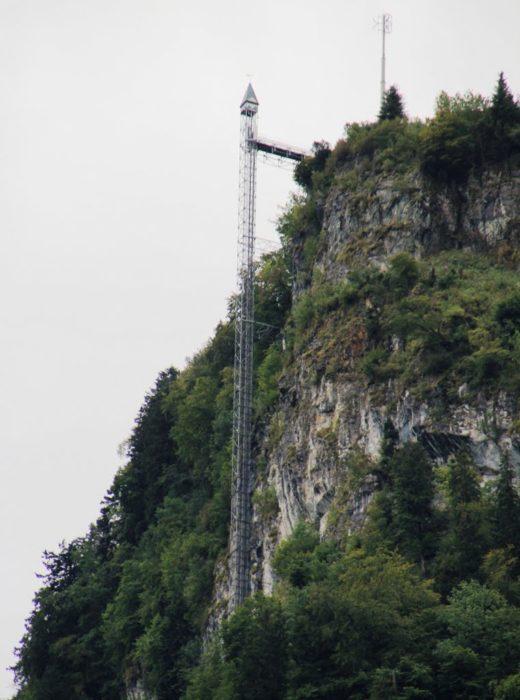 elevador muy alto en europa