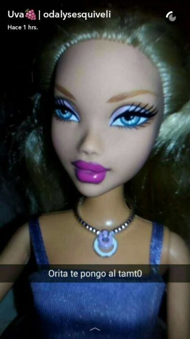 barbie rubia tipo bratz