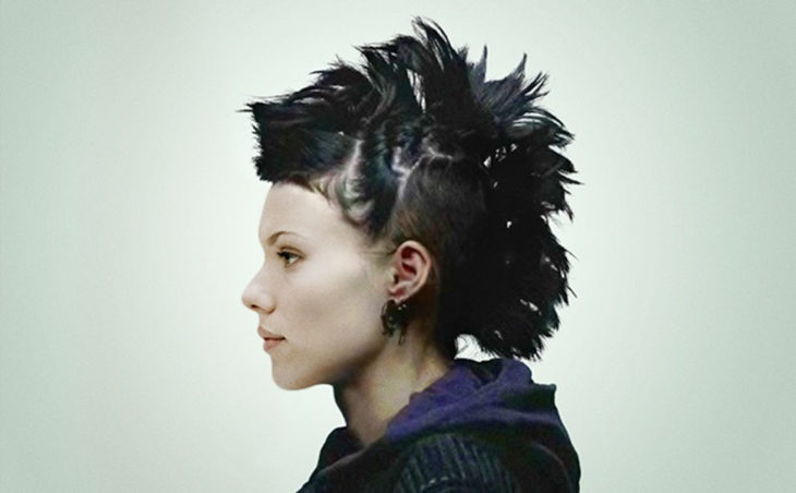 scarlet johanson como la chica del dragón tatuado
