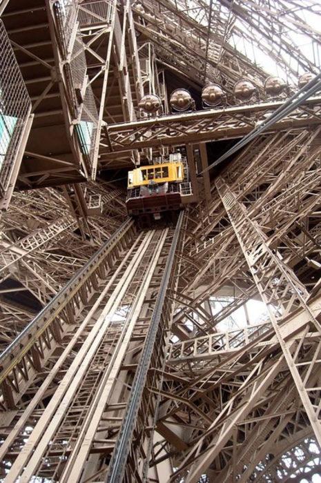 elevador de la torre eiffel