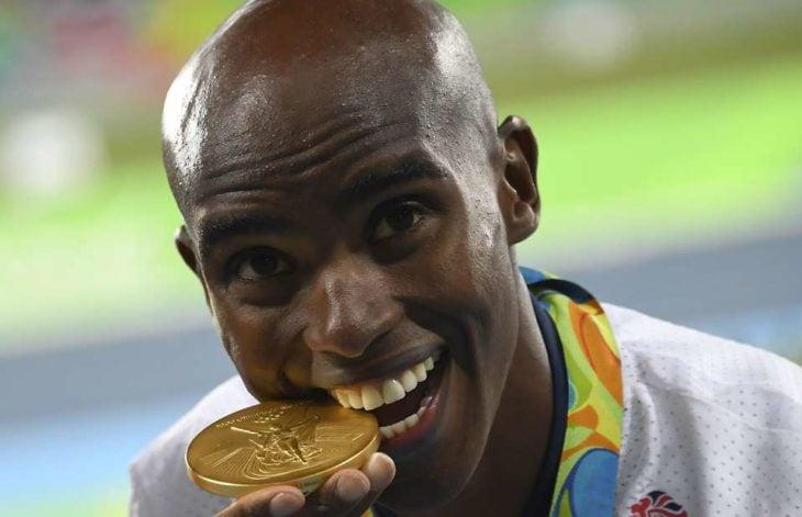 deportista gana medalla de oro