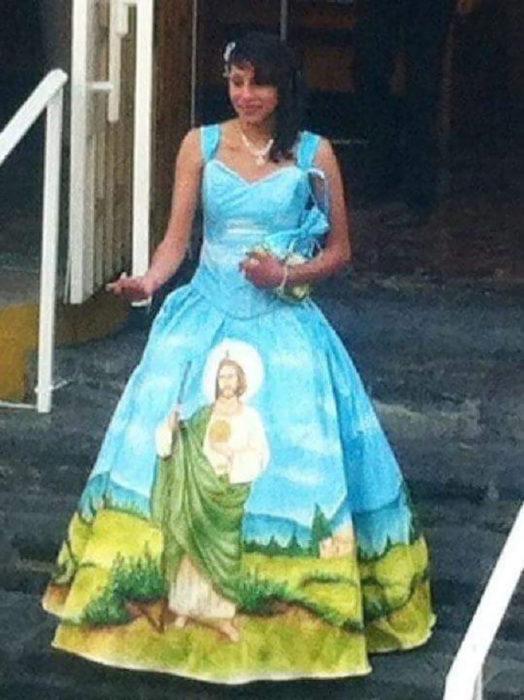 vestido de san judas tadeo