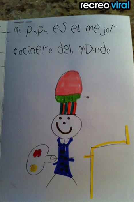 dibujo hecho por un niño
