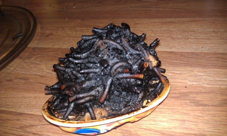 sopa quemada
