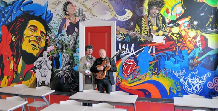 salón de clases de artes
