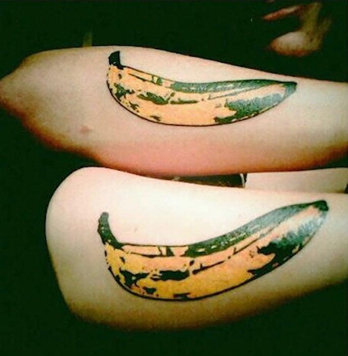 tatuajes de banana