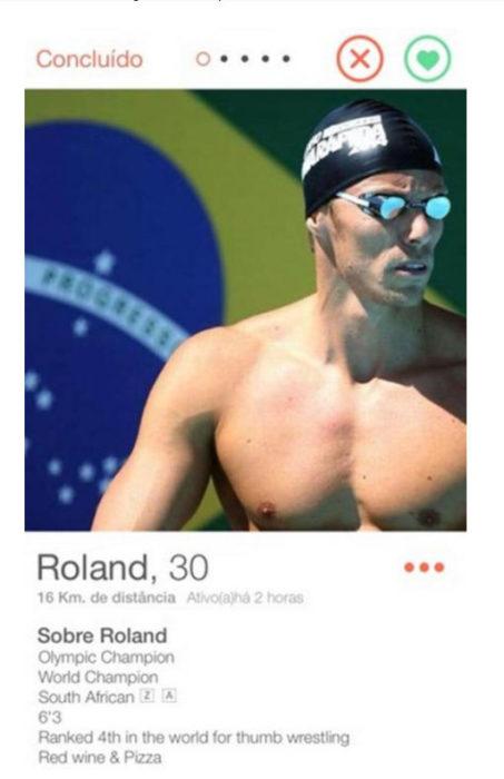 nadador olimpico roland