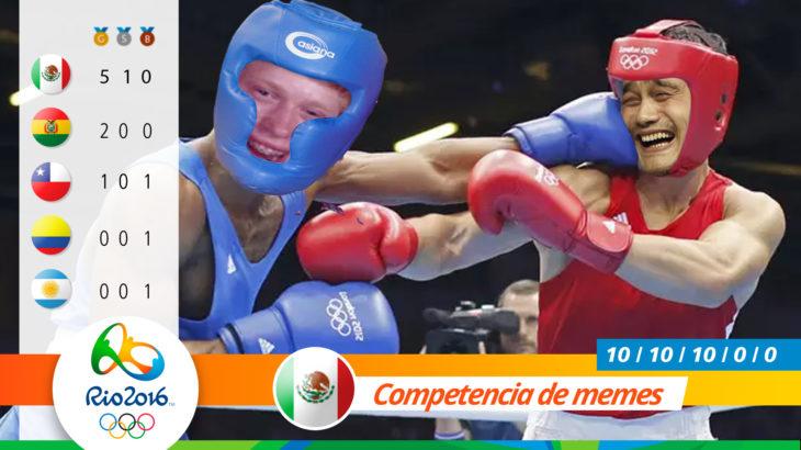 Medalla olímpica por pelea de memes