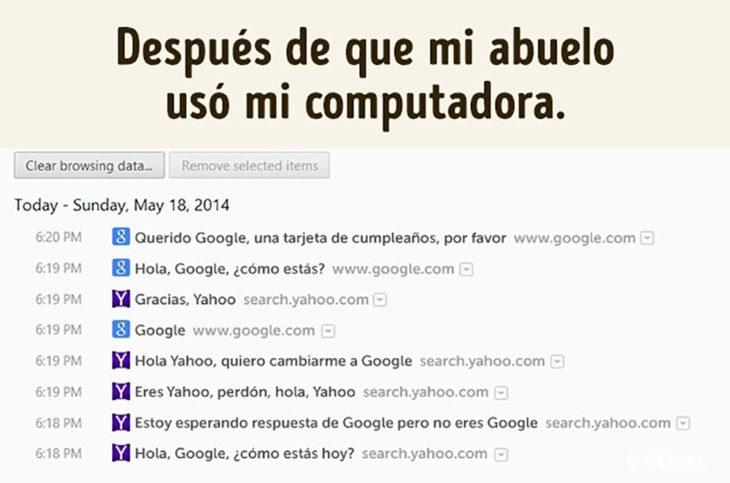 búsqueda de google de abuelito
