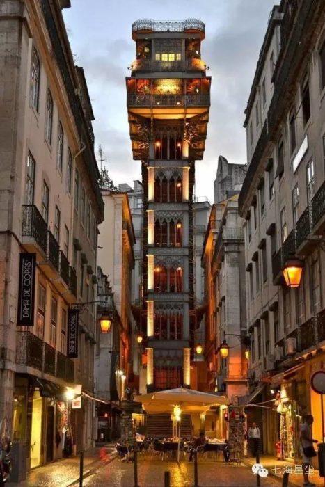 elevador de lisboa portugal