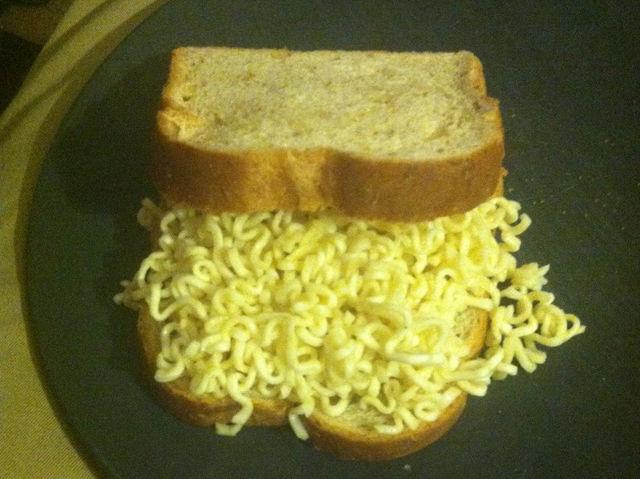 sandwich de sopa maruchan