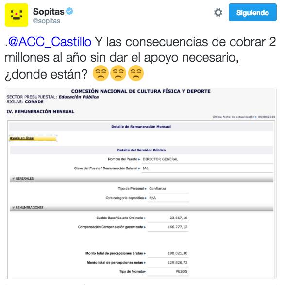 ALFREDO CASTILLO COBRA 2 MILONES DE PESOS ANUALES