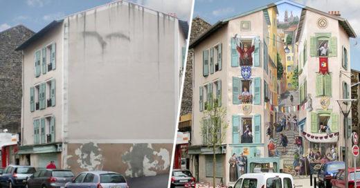 COVER Artista convierte aburridas casas en lugares de ensueño