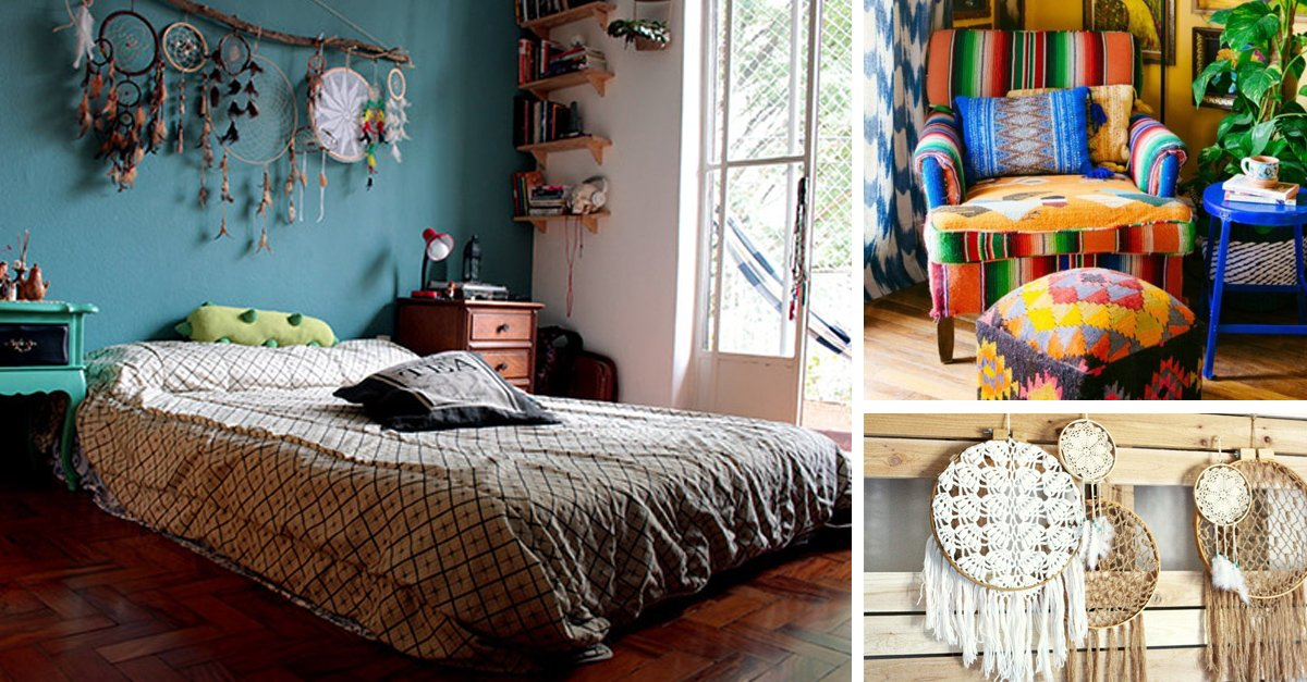 Ideas originales para decorar tu casa al puro estilo bohemio - Ideas originales para decorar la casa ...