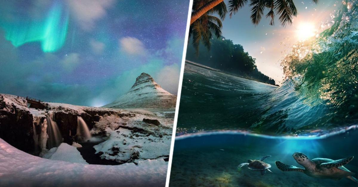 25 impresionantes imágenes que creerás tiene photoshop
